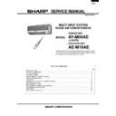 Sharp AE-M18 (serv.man2) Service Manual