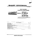 Sharp AE-M184 Service Manual
