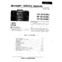 Sharp CD-301 (serv.man2) Service Manual