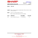 Sharp CD-BA1200 (serv.man14) Technical Bulletin