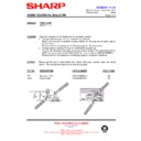Sharp CD-BA1200 (serv.man15) Technical Bulletin
