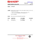 Sharp CD-BA1200 (serv.man18) Technical Bulletin