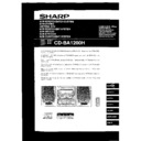 Sharp CD-BA1200 User Guide / Operation Manual
