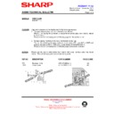 Sharp CD-BA1300 (serv.man14) Technical Bulletin