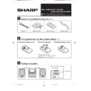 Sharp CD-BA1300 (serv.man2) User Guide / Operation Manual
