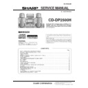 Sharp CD-DP2500 (serv.man10) Service Manual