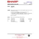 Sharp CD-DP2500 (serv.man32) Technical Bulletin