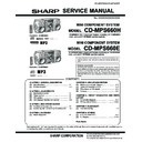 Sharp CD-MPS660H (serv.man13) Service Manual