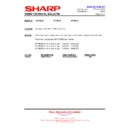 Sharp HT-SL70 (serv.man4) Technical Bulletin