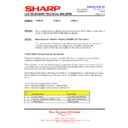 Sharp HT-SL70 (serv.man6) Technical Bulletin