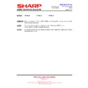 Sharp HT-SL70 (serv.man8) Technical Bulletin