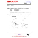 Sharp QT-CD210 (serv.man8) Technical Bulletin