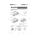 Sharp QT-CD250 (serv.man2) User Guide / Operation Manual