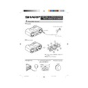 Sharp QT-CD250 (serv.man3) User Guide / Operation Manual