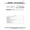 Sharp SD-AT50H (serv.man5) Service Manual