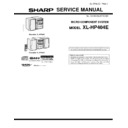 Sharp XL-HP404 (serv.man13) Service Manual
