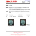 Sharp XL-HP404 (serv.man14) Technical Bulletin
