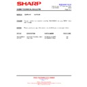Sharp XL-HP404 (serv.man15) Technical Bulletin