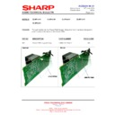 Sharp XL-HP404 (serv.man16) Technical Bulletin