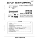Sharp DV-NC65H (serv.man2) Service Manual