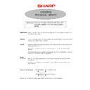 Sharp GENERAL (serv.man11) Specification
