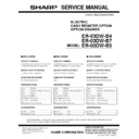 Sharp GENERAL (serv.man14) Service Manual