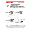 Sharp GENERAL (serv.man43) Technical Bulletin