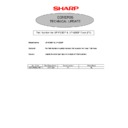 Sharp GENERAL (serv.man44) Technical Bulletin