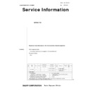 Sharp GENERAL (serv.man47) Technical Bulletin