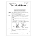 Sharp GENERAL (serv.man48) Technical Bulletin