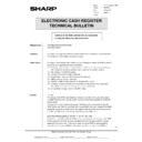 Sharp GENERAL (serv.man51) Technical Bulletin