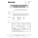 Sharp GENERAL (serv.man53) Technical Bulletin