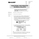 Sharp GENERAL (serv.man54) Technical Bulletin