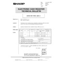 Sharp GENERAL (serv.man55) Technical Bulletin