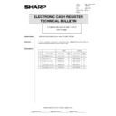 Sharp GENERAL (serv.man56) Technical Bulletin