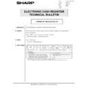 Sharp GENERAL (serv.man57) Technical Bulletin