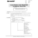 Sharp GENERAL (serv.man59) Technical Bulletin