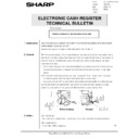 Sharp GENERAL (serv.man61) Technical Bulletin