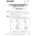 Sharp GENERAL (serv.man62) Technical Bulletin