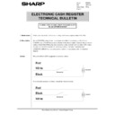 Sharp GENERAL (serv.man64) Technical Bulletin