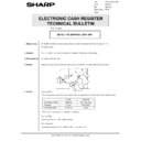 Sharp GENERAL (serv.man65) Technical Bulletin