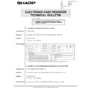 Sharp GENERAL (serv.man66) Technical Bulletin