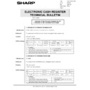 Sharp GENERAL (serv.man68) Technical Bulletin