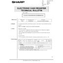 Sharp GENERAL (serv.man69) Technical Bulletin