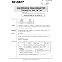 Sharp GENERAL (serv.man70) Technical Bulletin
