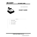 Sharp GENERAL (serv.man9) Handy Guide