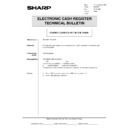 Sharp OPTIONS (serv.man33) Technical Bulletin