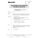 Sharp OPTIONS (serv.man35) Technical Bulletin