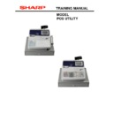 Sharp POS UTILITY (serv.man2) User Guide / Operation Manual