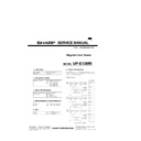 Sharp UP-600, UP-700 (serv.man19) Service Manual